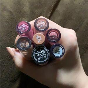 Colourpop Makeup - Lipstick lot (Colourpop, ELF, Wet n Wild)